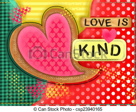 Love is kind clipart black and white download Love is kind clipart - ClipartFest black and white download