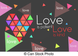 Love is kind clipart vector royalty free Stock Illustration of What is love 3D image csp15666362 - Search ... vector royalty free