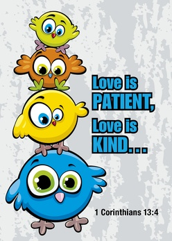 Love is patient love is kind clipart png transparent Love is Patient, Love is Kind | Lutheran Tract Mission (LTM) png transparent