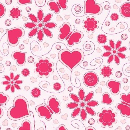 Love pattern clipart