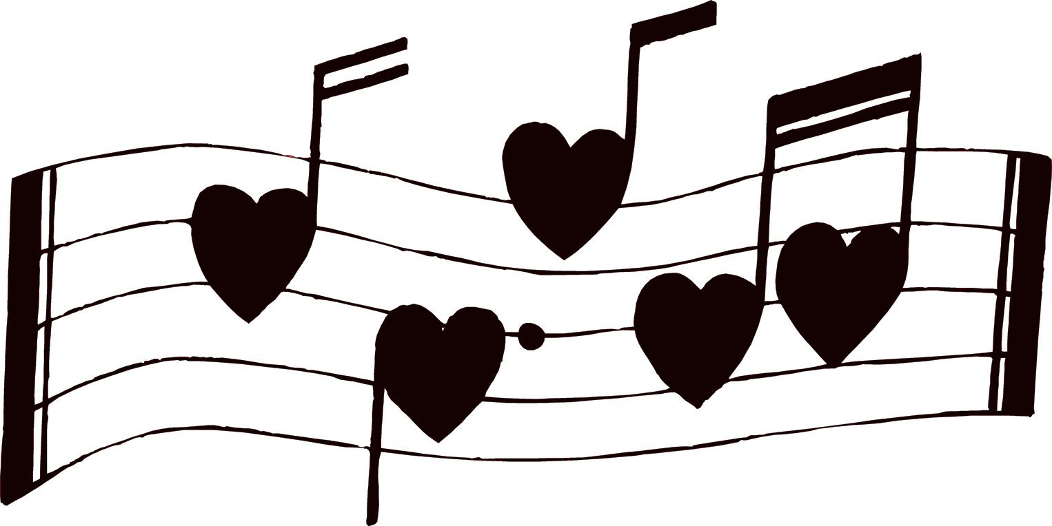 Love song clipart png download Musical notes music notes clipart free clipart images ... png download