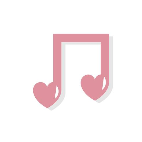 Love song clipart clip art royalty free download Love song Valentines day icon - Download Free Vectors ... clip art royalty free download