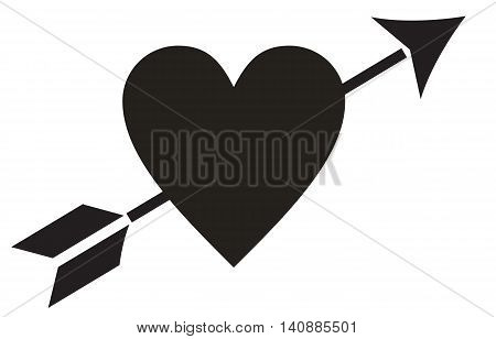 Love symbol with arrow clipart picture library Love Heart Arrow heart shape arrow symbol arrow - bow and arrow ... picture library