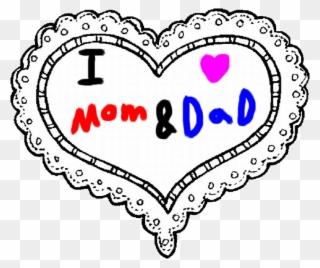 Love you mom and dad clipart picture library Mom And By Roxaspikachu - Love My Mom And Dad Clipart ... picture library