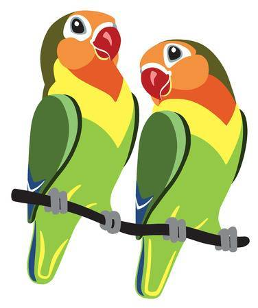 Lovebird clipart picture library stock Lovebird clipart 4 » Clipart Portal picture library stock