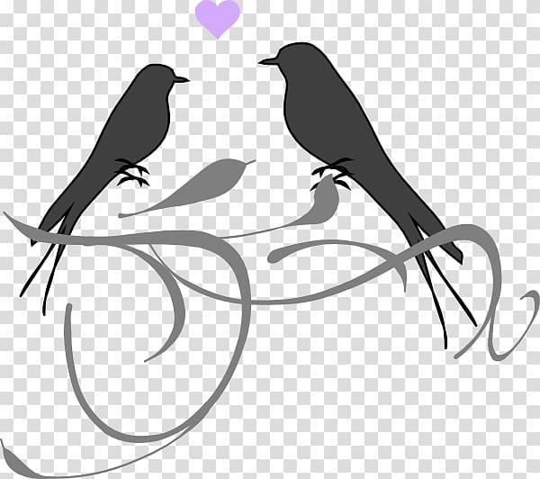 Lovebird clipart banner download Lovebird Wedding invitation , love birds transparent ... banner download