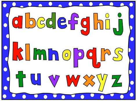 Lower case alphabet clipart png ABC Countdown! - Patton Firsties png