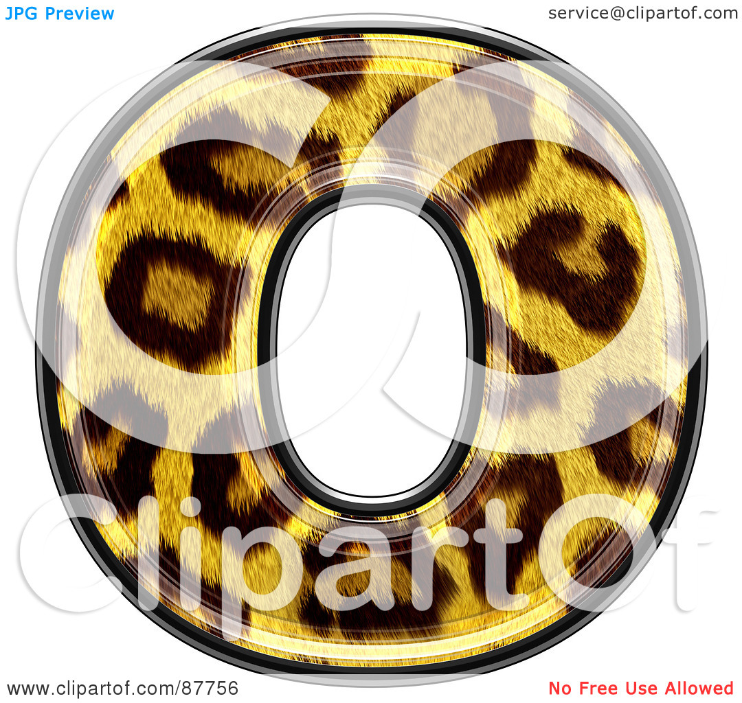 Lower case letter o clipart image library stock Royalty-Free (RF) Clipart Illustration of a Panther Symbol ... image library stock