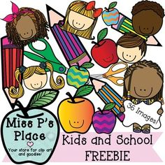 Lower class schools clipart image library Kids and Students Clipart FREEBIE Clipart! Perfect for TpT sellers ... image library
