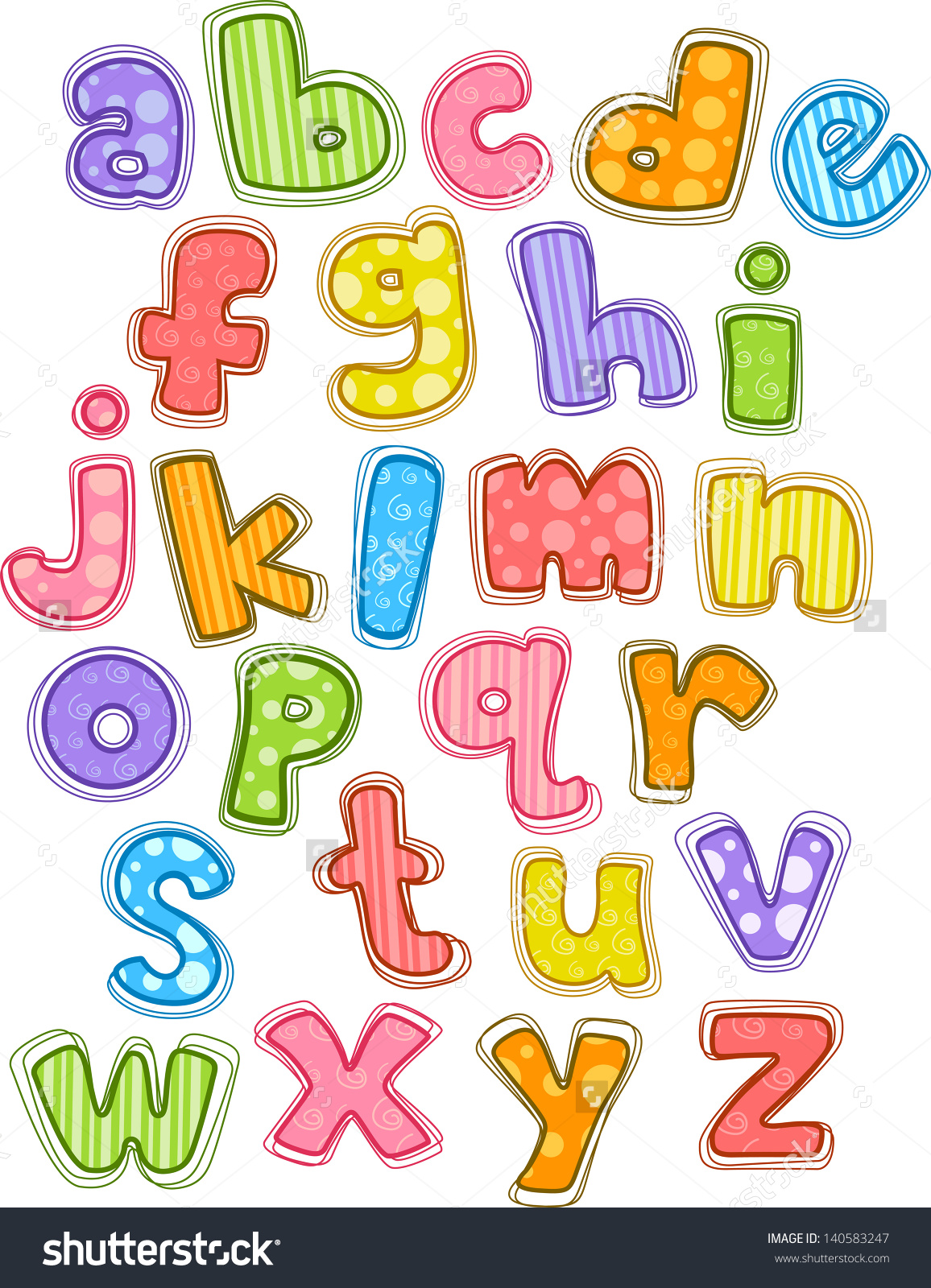 Lowercase alphabet clipart image library stock Lowercase alphabet clipart - ClipartFest image library stock