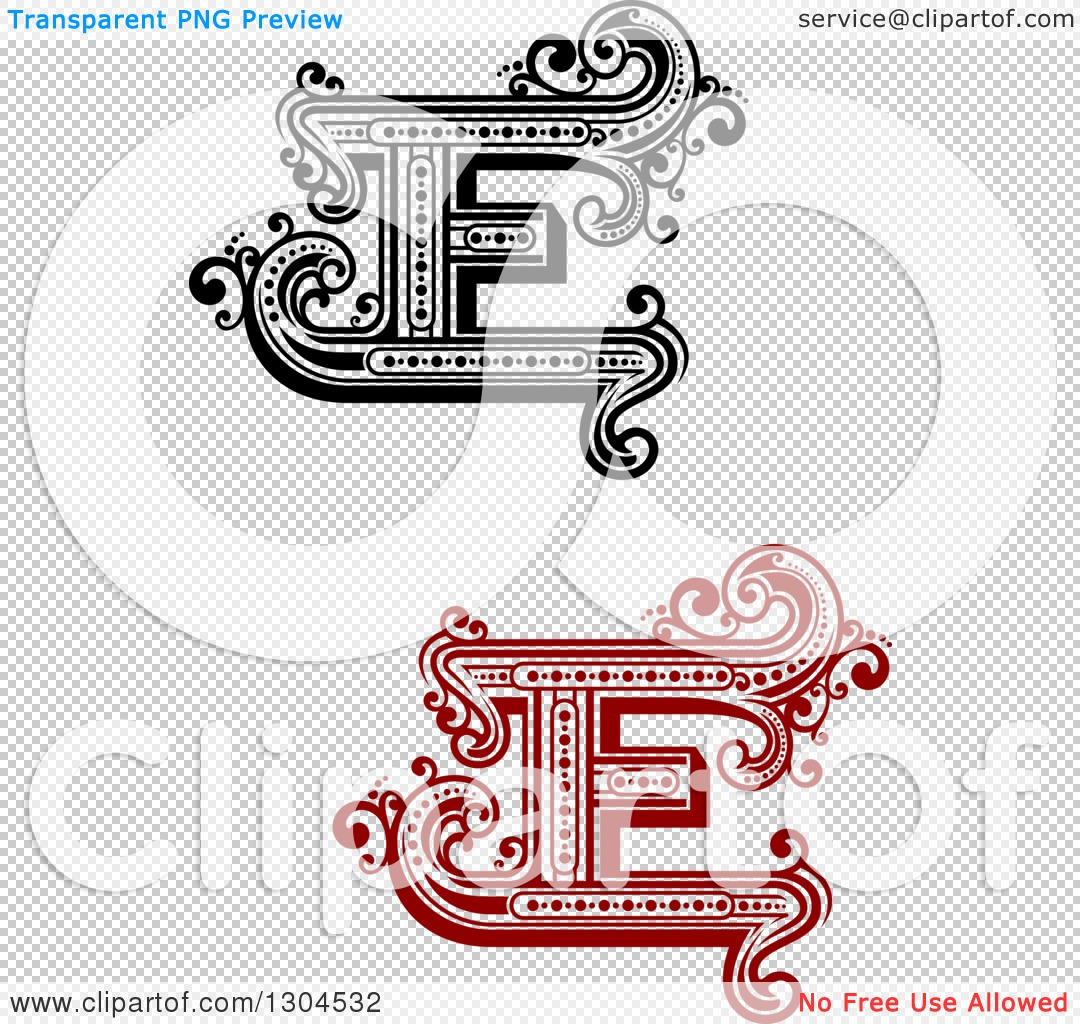 Lowercase e clipart with no background picture free library Clipart of Retro Capital Letter E Designs with Flourishes ... picture free library