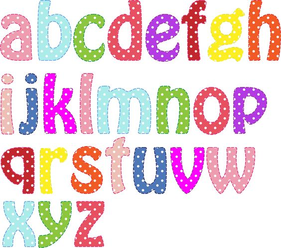 Lowercase letter clipart vector free stock Clipart - Colorful Alphabet Lowercase | letras | Pinterest | Alphabet vector free stock