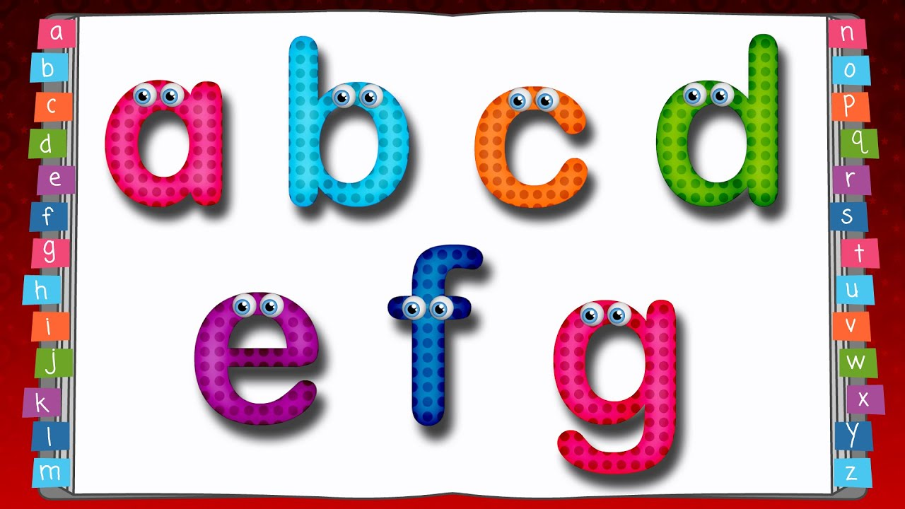 Lowercase letters clipart vector freeuse stock Learn to Write lowercase Alphabet for Kids | ABC Songs for Children vector freeuse stock