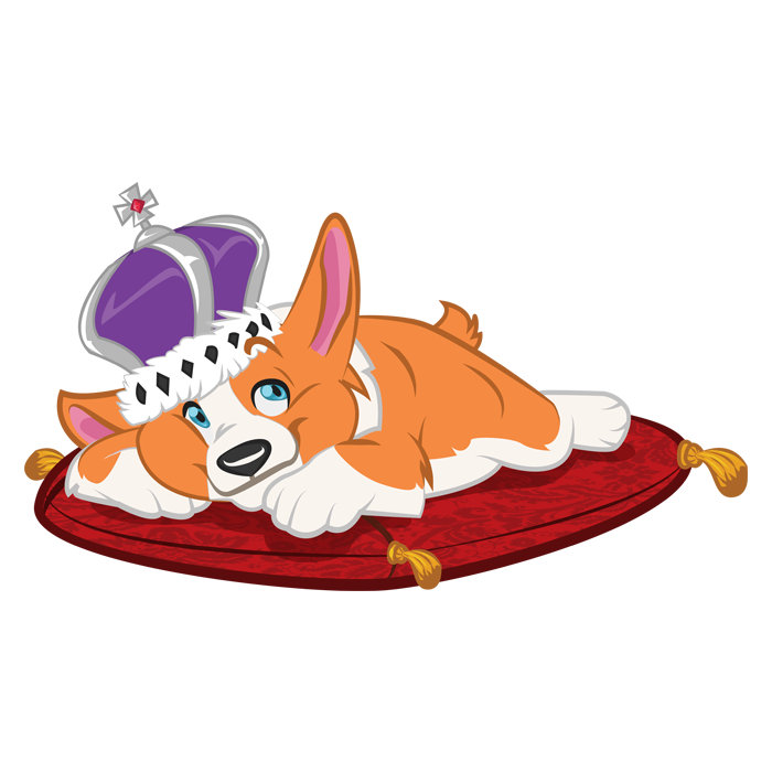 Dog Save the Queen picture freeuse library