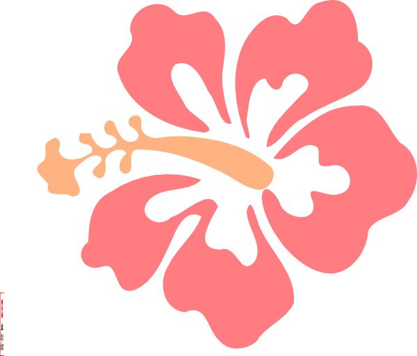 Luau flower clipart picture free download vector   island beach party   Pinterest   Cricut, Stenciling and ... picture free download