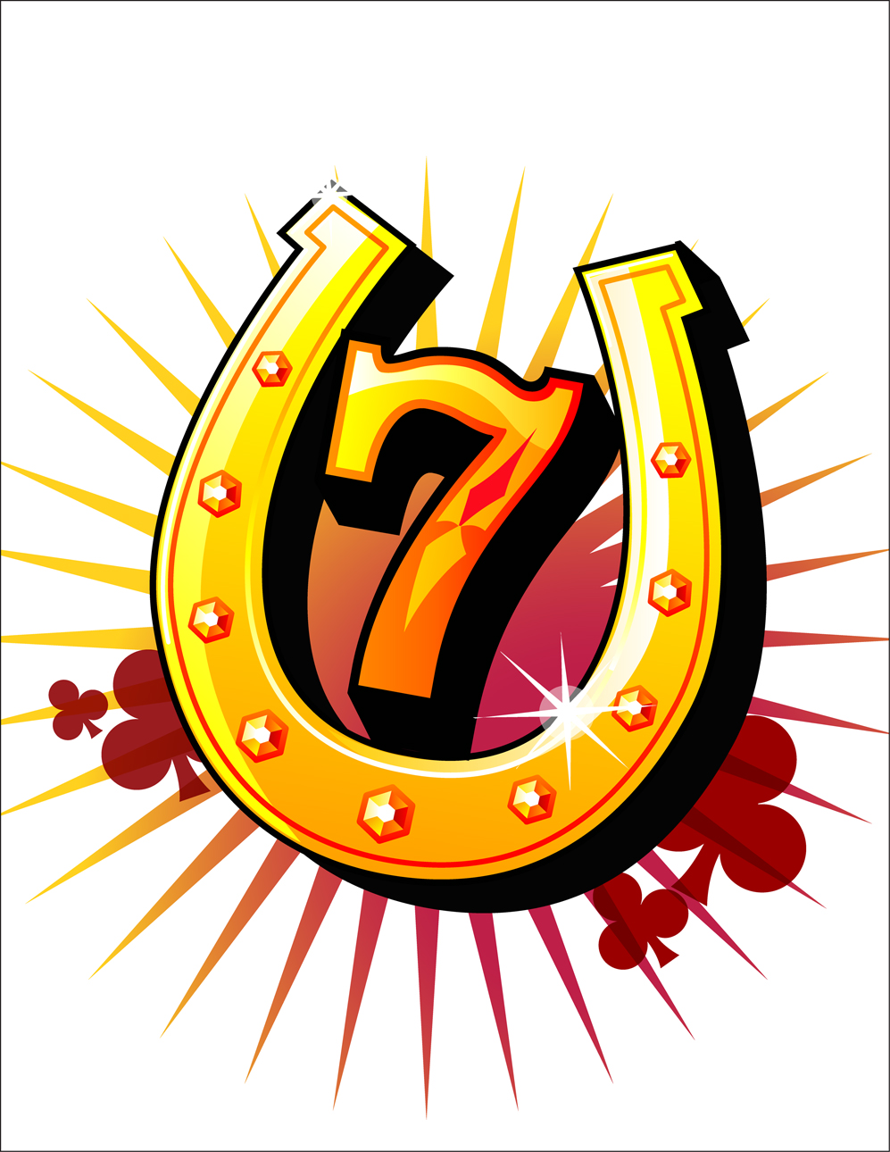 Lucky 13 clip art clipart free Lucky 13 Happy Birthday Clipart clipart free