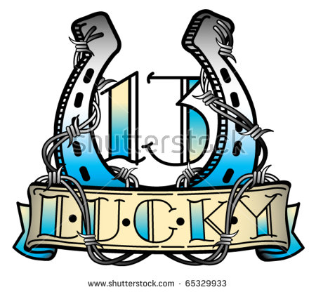 Lucky 13 clip art banner free library Lucky 13 Stock Photos, Royalty-Free Images & Vectors - Shutterstock banner free library
