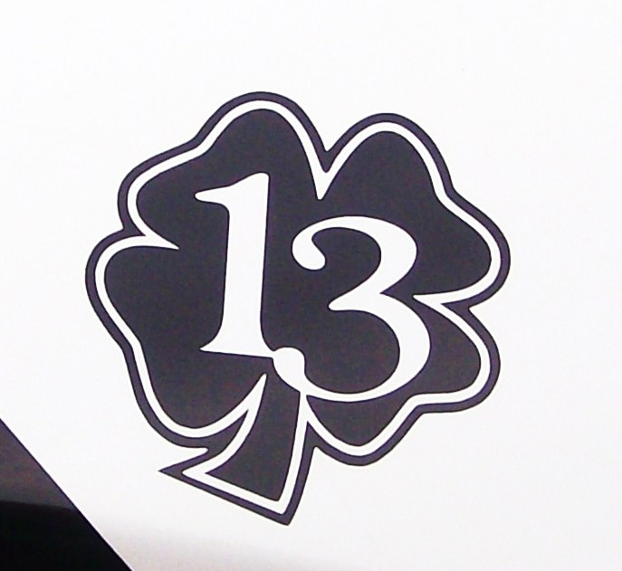 Lucky 13 clip art picture free library Lucky 13 clip art - ClipartFest picture free library