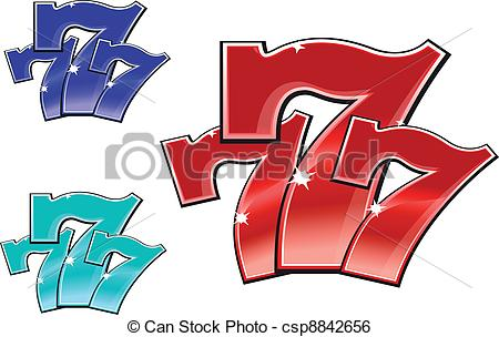Lucky 7 clipart svg library download Lucky number Clipart and Stock Illustrations. 3,263 Lucky number ... svg library download