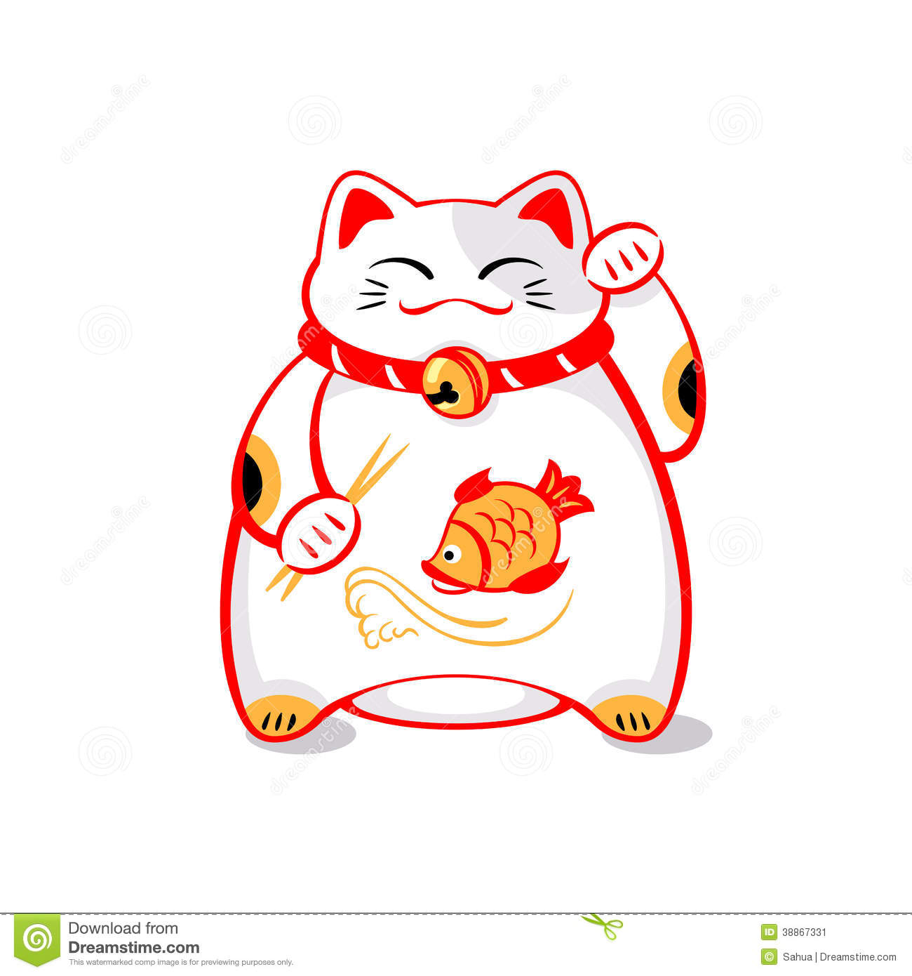 Lucky cat clipart png royalty free download Lucky Cat Clipart - Clipart Kid png royalty free download