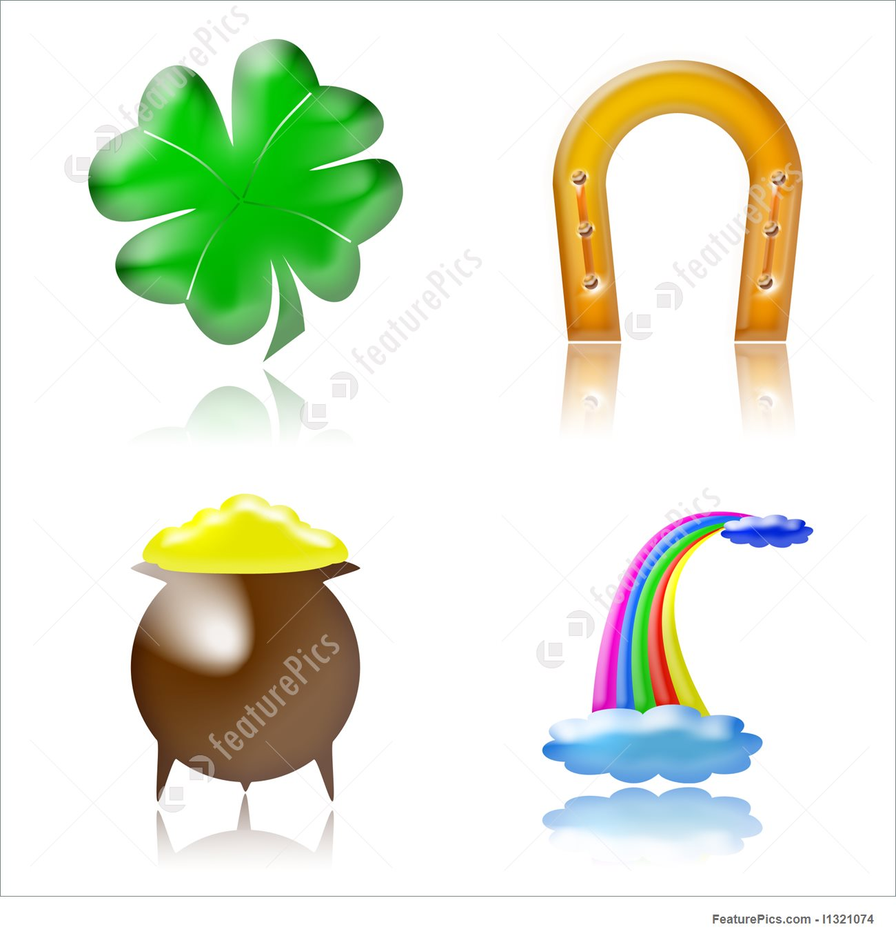 Lucky charm clip art png freeuse Good Luck Charms Stock Illustration I1321074 at FeaturePics png freeuse