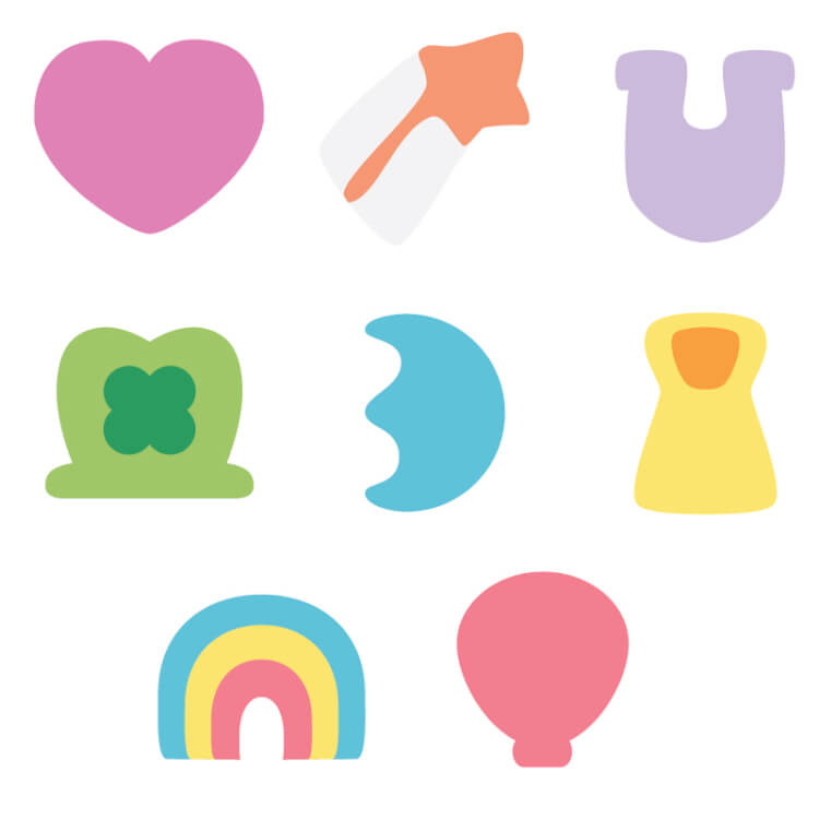 Lucky charms clip art clipart free library Set of 8 Lucky Charms Cut Files - Hey, Let's Make Stuff clipart free library