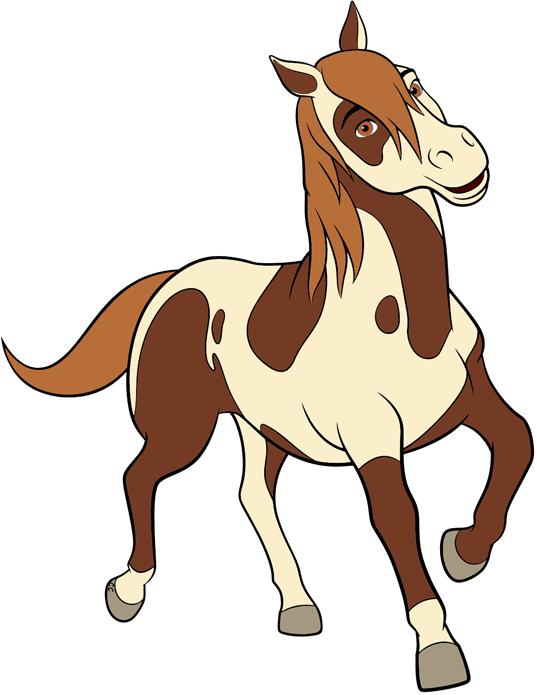 Lucky clipart images clip art transparent download Spirit: Riding Free Clip Art | Cartoon Clip Art clip art transparent download
