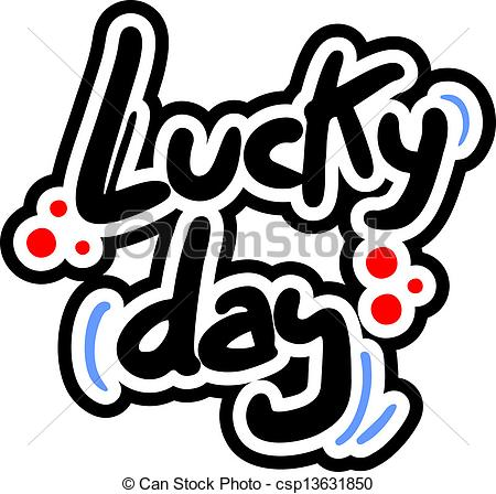 Lucky clipart images clip art library library Lucky Day Clipart - Clipart Kid clip art library library