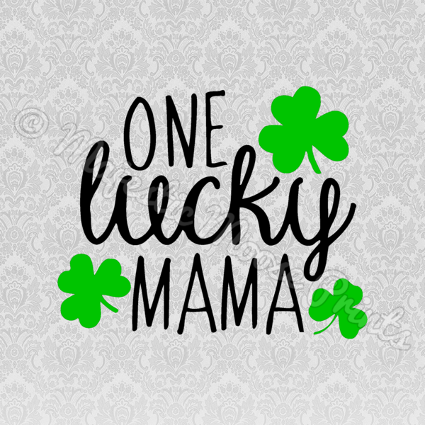 Lucky clipart images clip art free stock Majestic Moose Prints - One Lucky Mama SVG / Cut File / Clipart clip art free stock