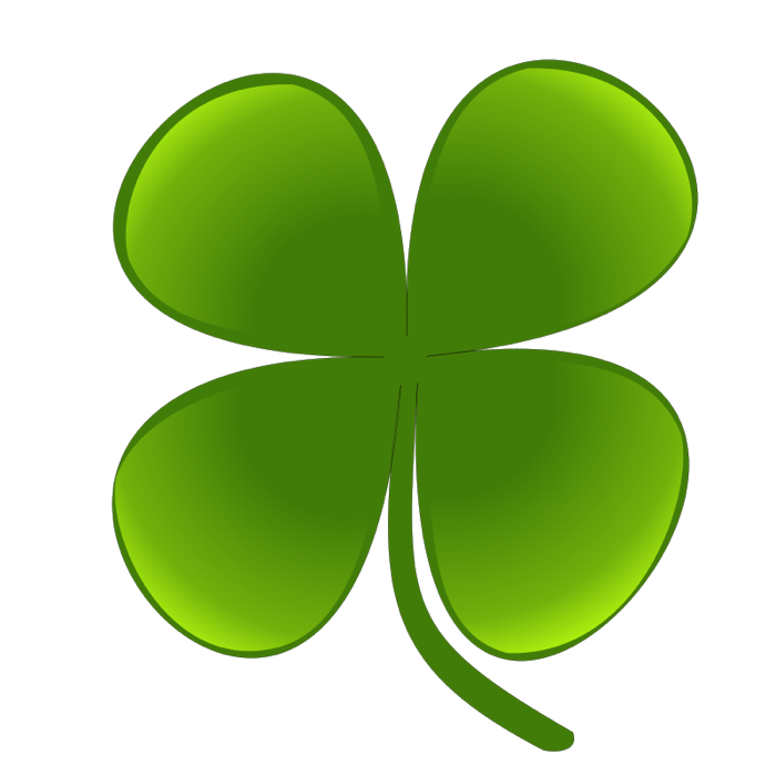 Lucky clipart images picture royalty free Four leaf clover images clip art - ClipartFest picture royalty free