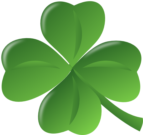 Lucky clipart images image royalty free stock Lucky Clover Clipart - Clipart Kid image royalty free stock