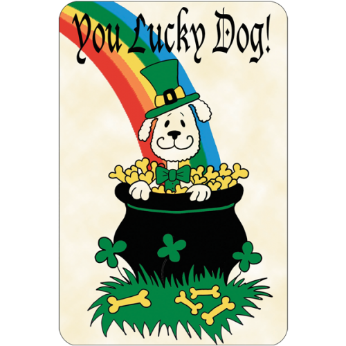 Lucky dog clipart clip transparent You Lucky Dog (St. Patricks Day) clip transparent