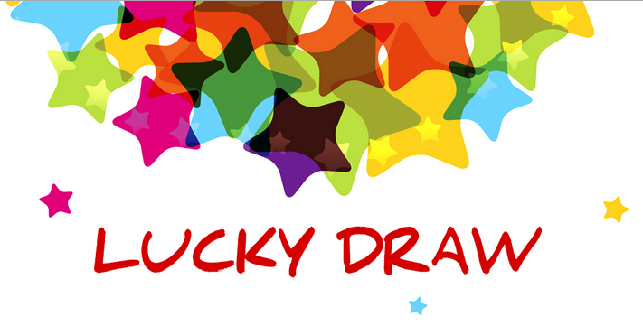 Lucky draw clipart