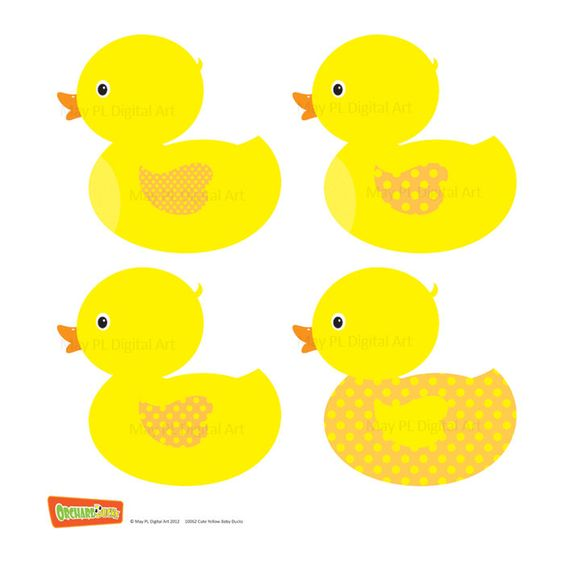 Lucky duck clipart freeuse Rubber Duck Clip Art Ducky Duckie Baby Shower Yellow Baby Duck ... freeuse