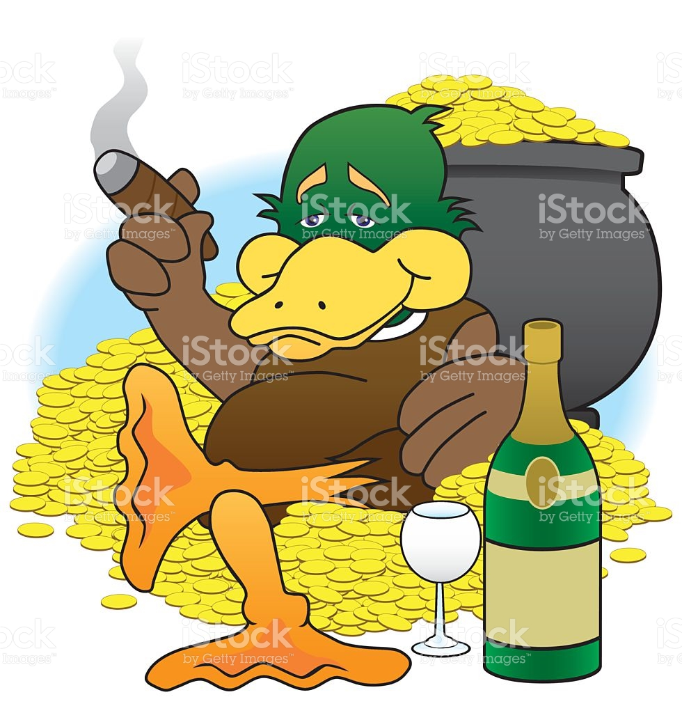 Lucky duck clipart clipart transparent download Lucky Duck stock vector art 485560326 | iStock clipart transparent download