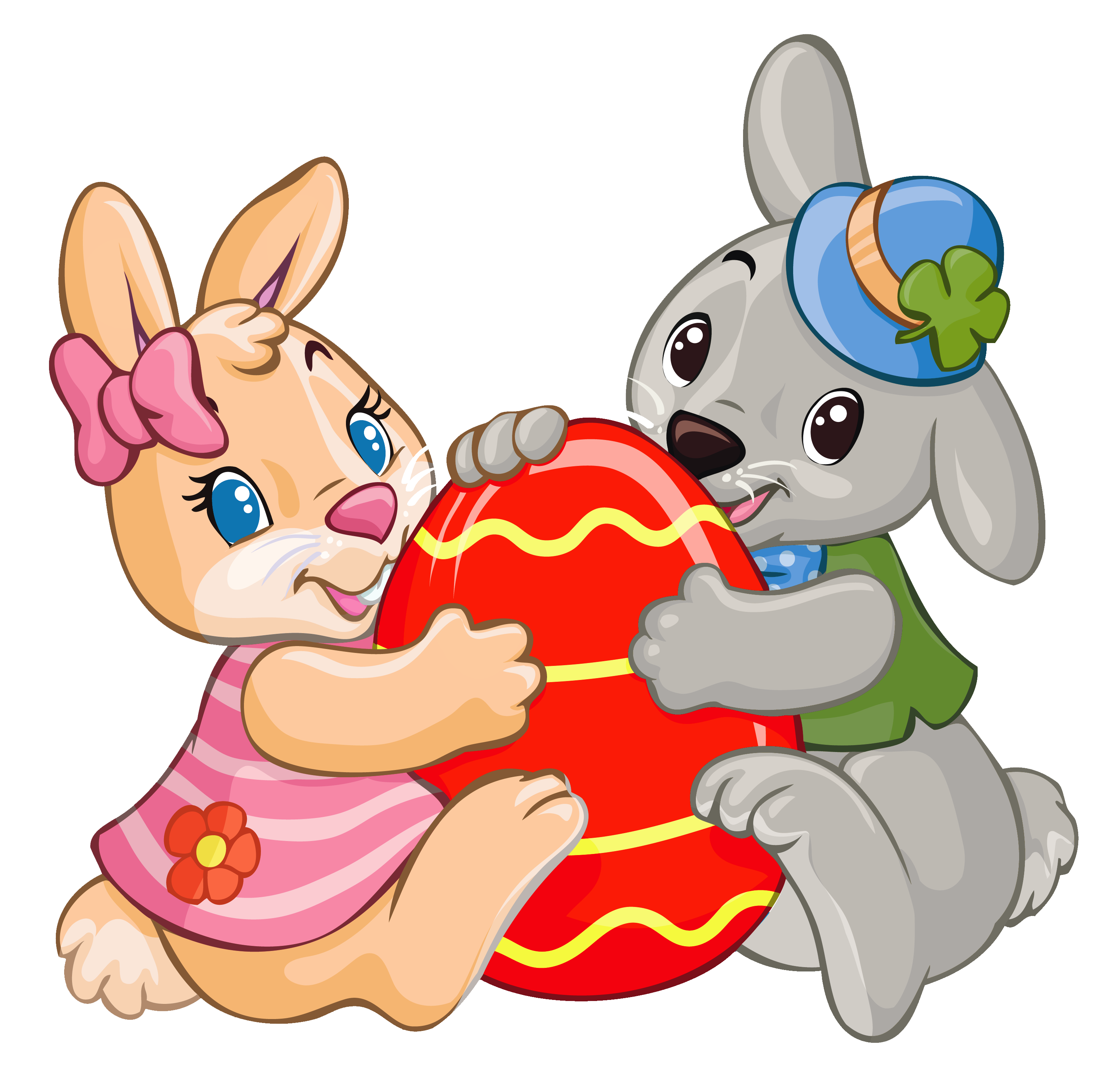 Lucky easter bunny clipart picture freeuse stock Lucky easter bunny clipart - ClipartFest picture freeuse stock