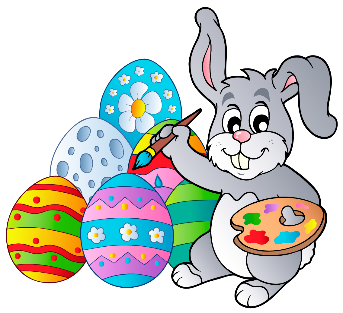 Lucky easter bunny clipart clipart freeuse download Images of Clipart Easter Bunny - Wedding Goods clipart freeuse download