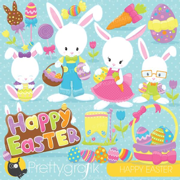 Lucky easter bunny clipart transparent stock 17 Best images about easter decoupage on Pinterest | Vintage ... transparent stock