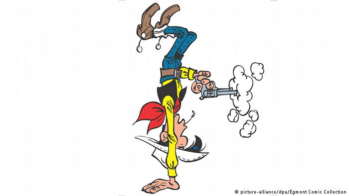 Lucky luke clipart clipart royalty free download Cartoon cowboy Lucky Luke turns 70 | All media content | DW.COM ... clipart royalty free download