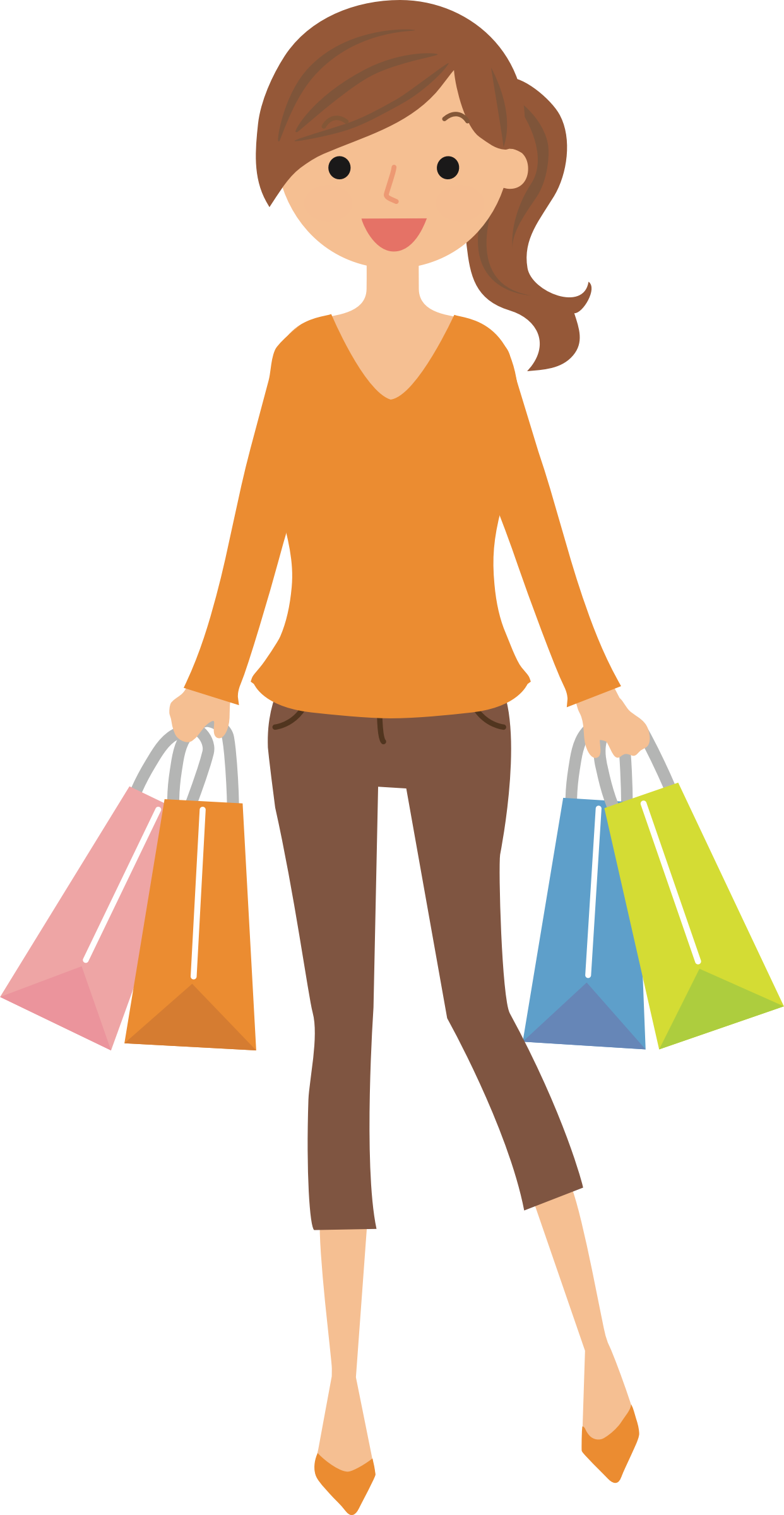 Woman holding money clipart clipart library library https://openclipart.org/detail/298063/female-shopper-6 | Mujer ... clipart library library