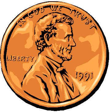 Lucky penny clipart jpg Lucky penny clipart - ClipartFest jpg