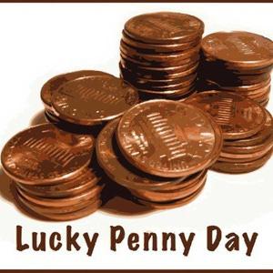 Lucky penny clipart vector freeuse Lucky Penny Clipart - Clipart Kid vector freeuse