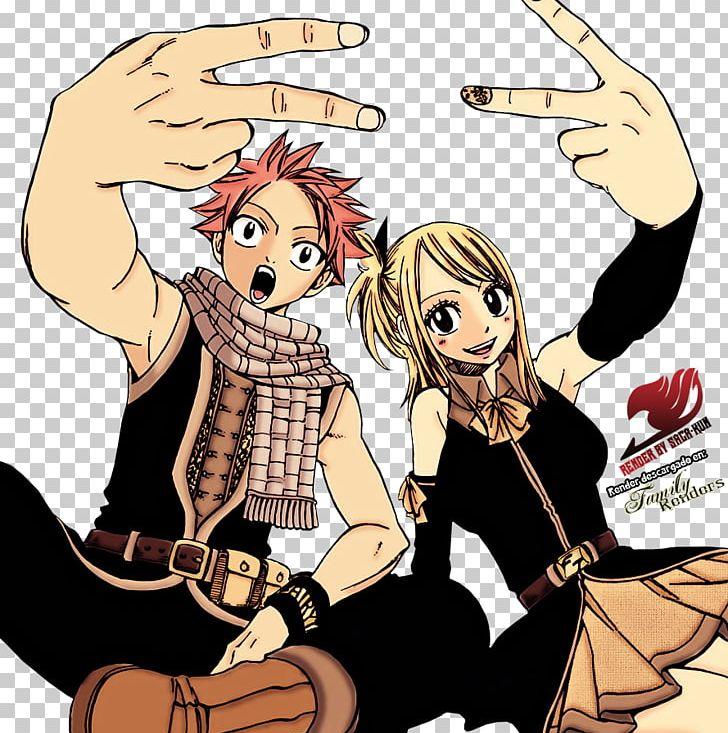 Lucy heartfilia manga clipart banner free stock Lucy Heartfilia Natsu Dragneel Happy Fairy Tail Manga PNG ... banner free stock
