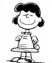 Lucy peanuts clipart black and white stock Lucy peanuts clipart 1 » Clipart Portal black and white stock