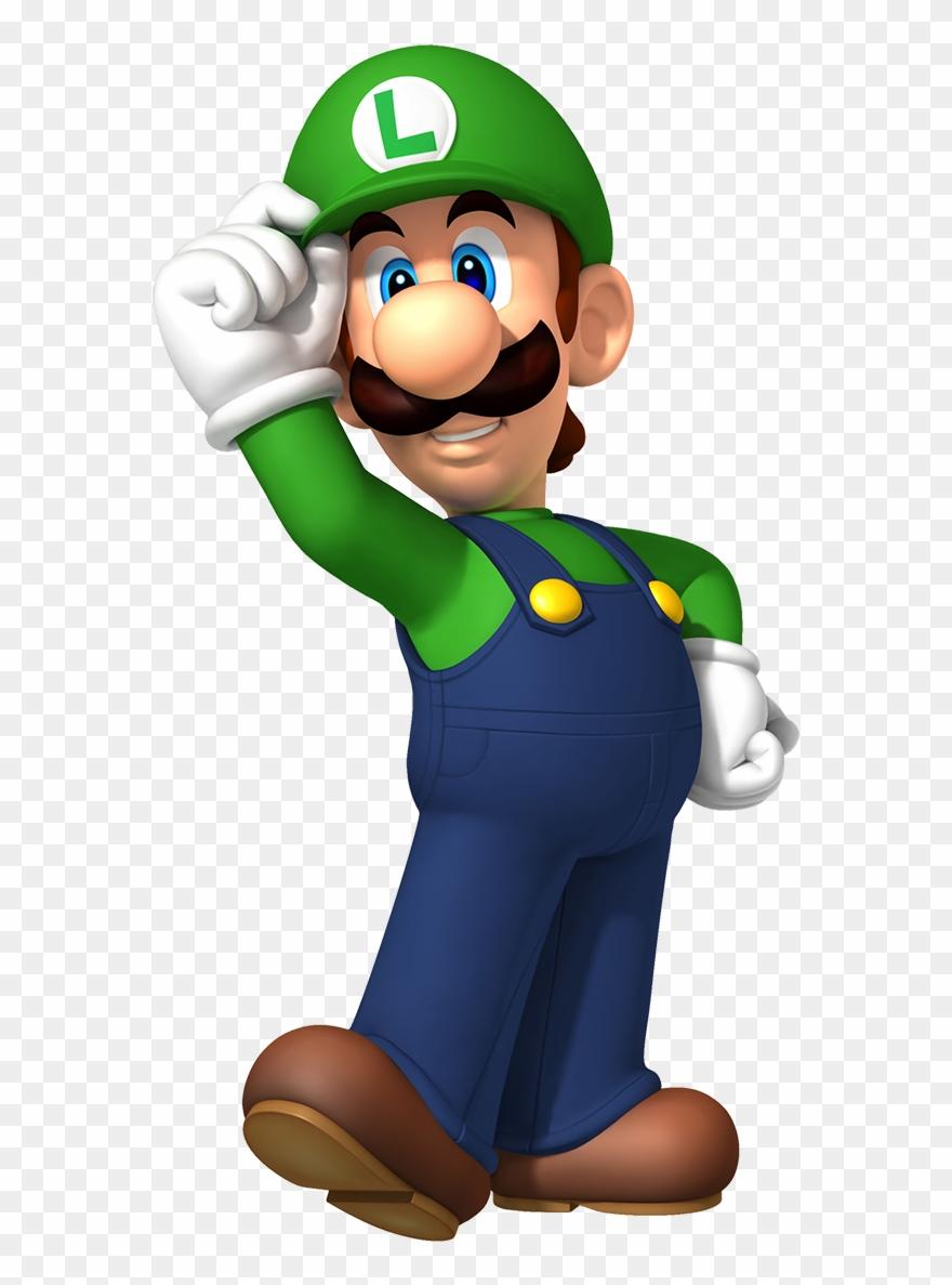 Lueigie clipart png black and white Super Mario Luigi - Luigi Mario Clipart (#301524) - PinClipart png black and white