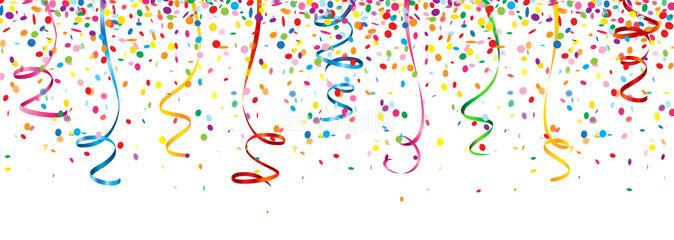 Luftballons und luftschlangen clipart graphic library Fasching clipart luftschlangen - ClipartFest graphic library