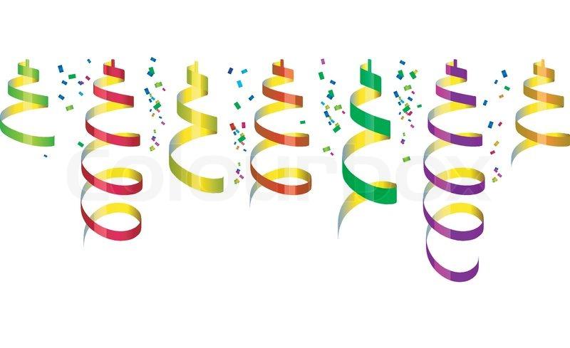 Luftballons und luftschlangen clipart vector library download Konfetti und luftschlangen clipart - ClipartFox vector library download