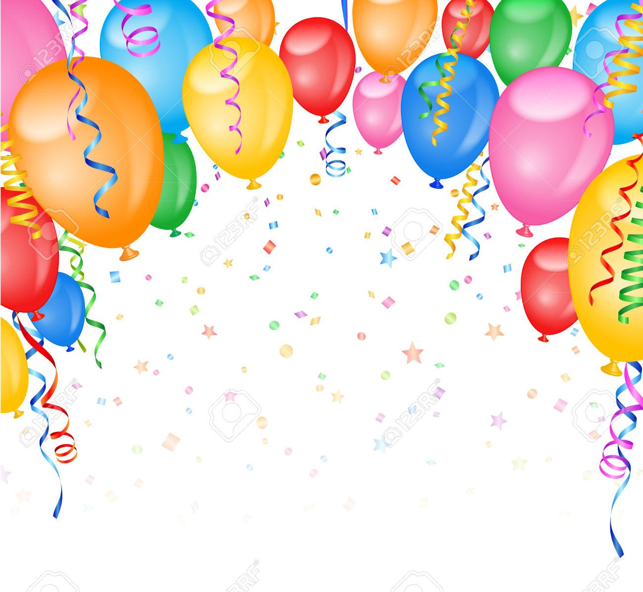 Luftballons und luftschlangen clipart banner library download Konfetti und luftschlangen clipart - ClipartFox banner library download