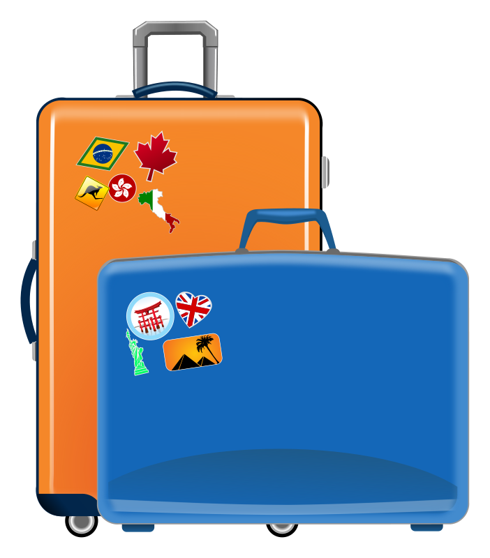 Suitcase clipart images stock Free Cliparts Travel Luggage, Download Free Clip Art, Free Clip Art ... stock
