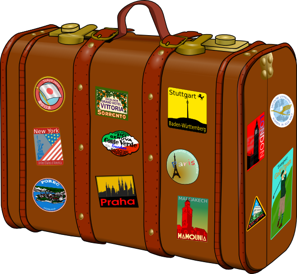 Luggage bag clipart picture royalty free Free Cliparts Travel Luggage, Download Free Clip Art, Free Clip Art ... picture royalty free
